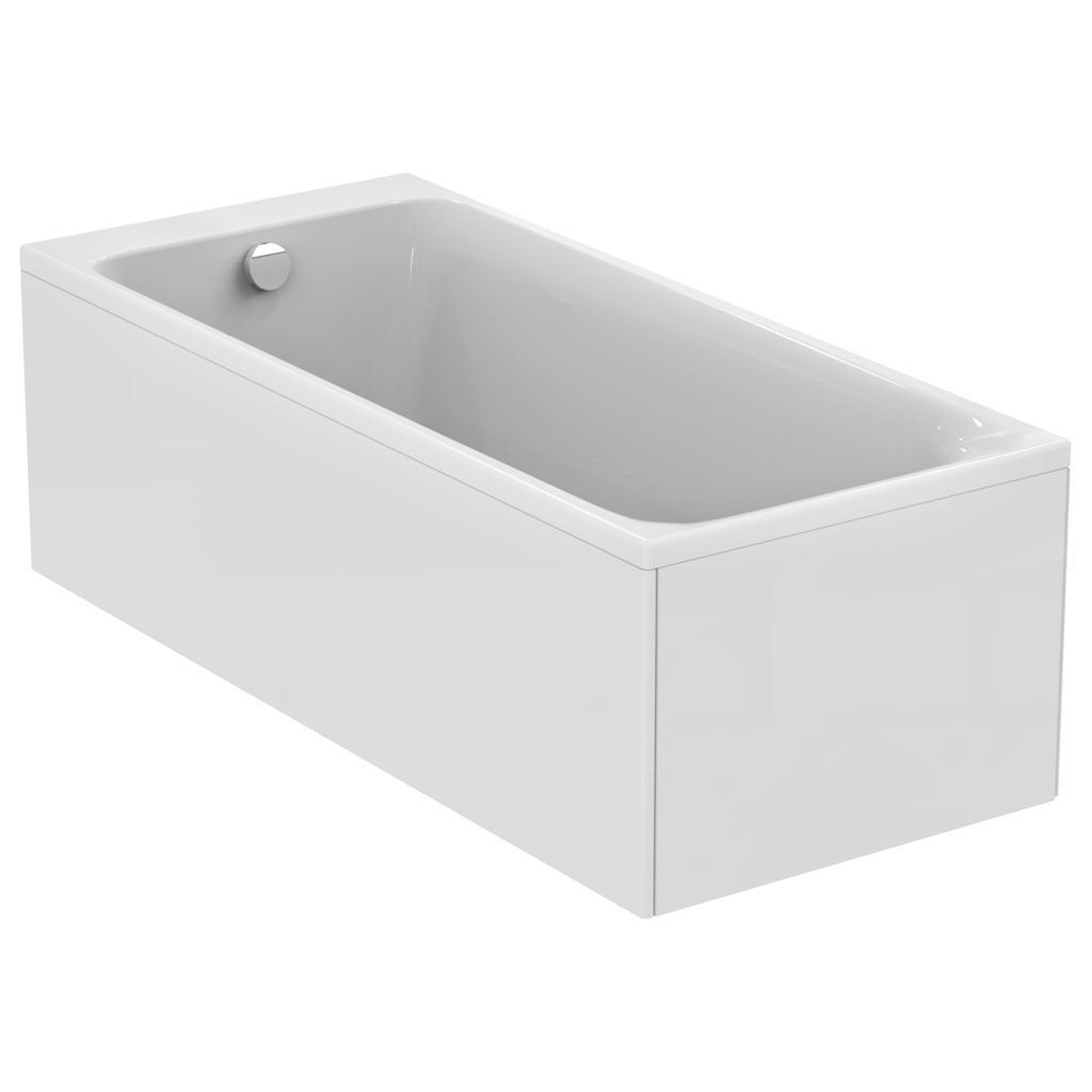 170x75 bath white