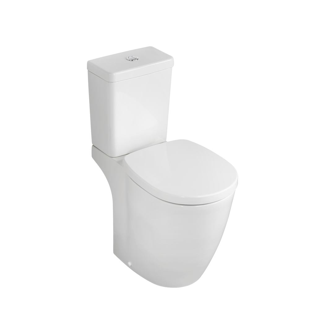 Remarkable Product Details E6086 Raised Height Close Coupled Wc Pan Theyellowbook Wood Chair Design Ideas Theyellowbookinfo