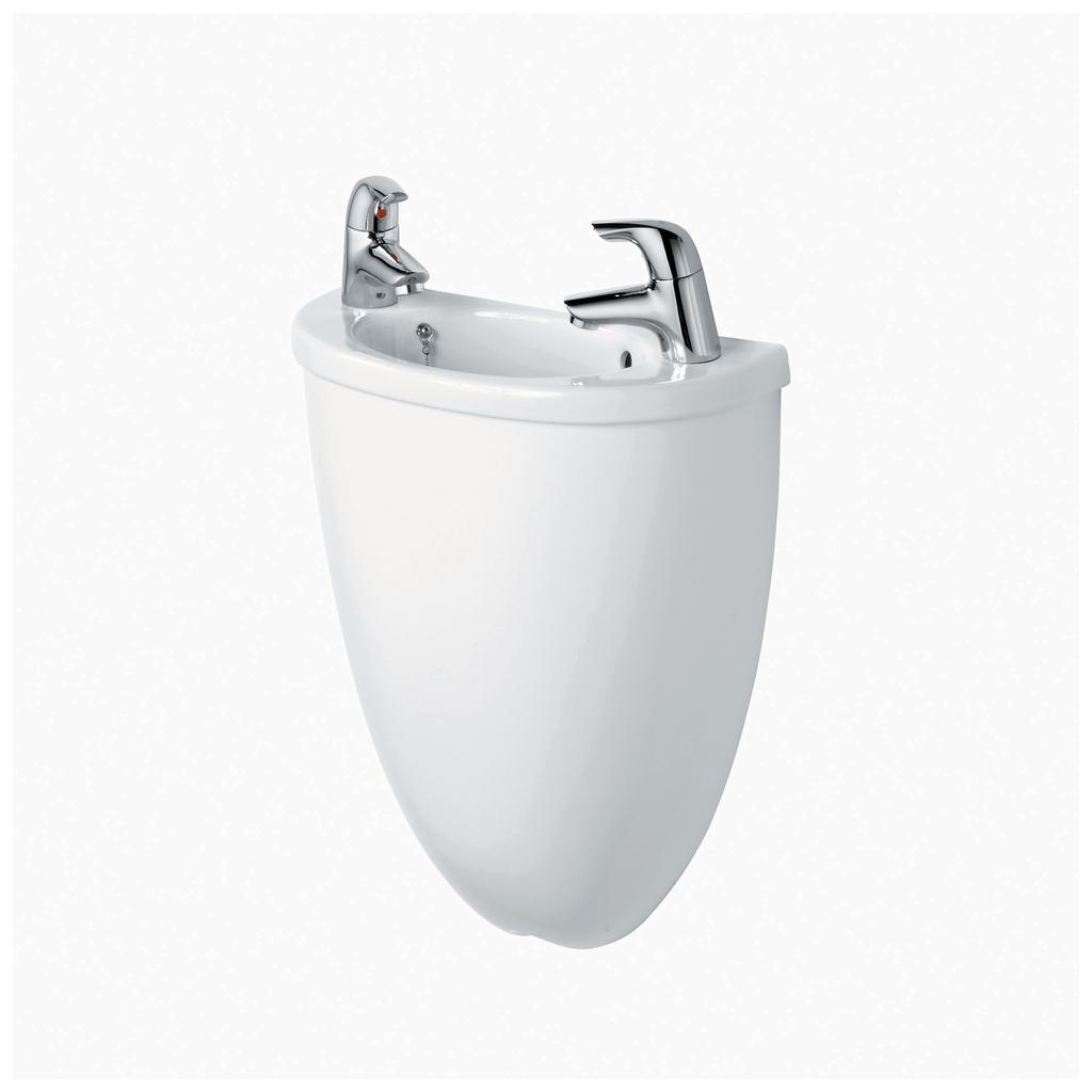 40cm Washbasin, 2 tapholes