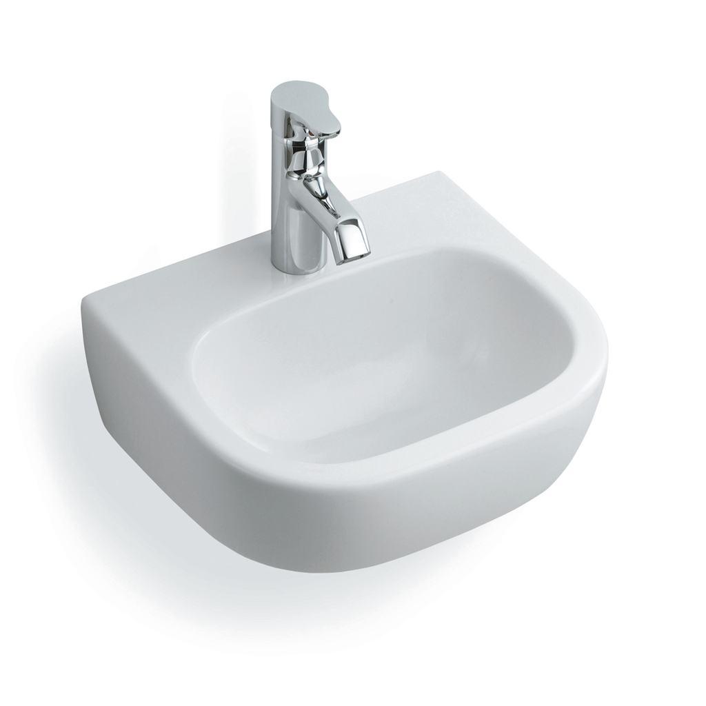 40cm Handrinse Washbasin, 1 taphole