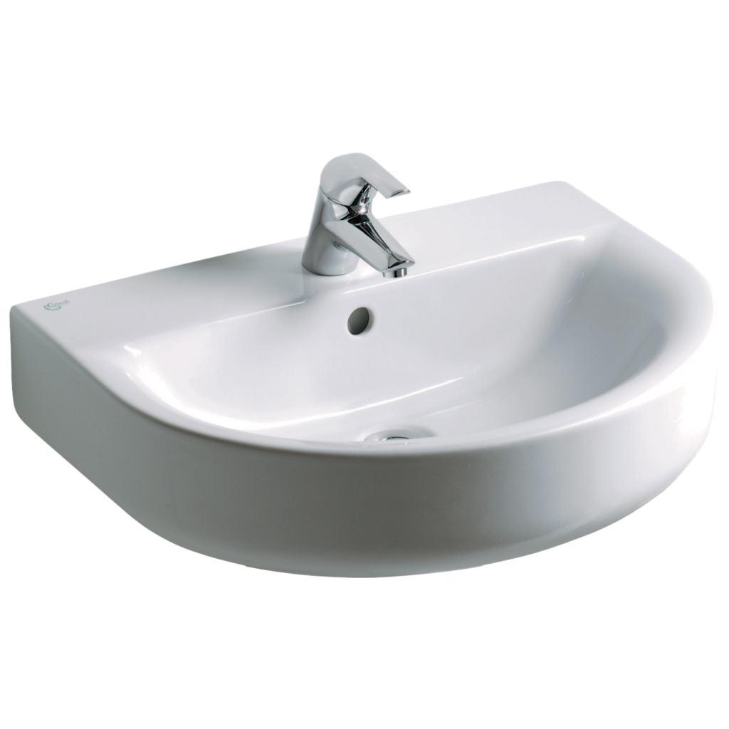 dettagli del prodotto e7135 lavabo 60 x 46 cm ideal standard. Black Bedroom Furniture Sets. Home Design Ideas