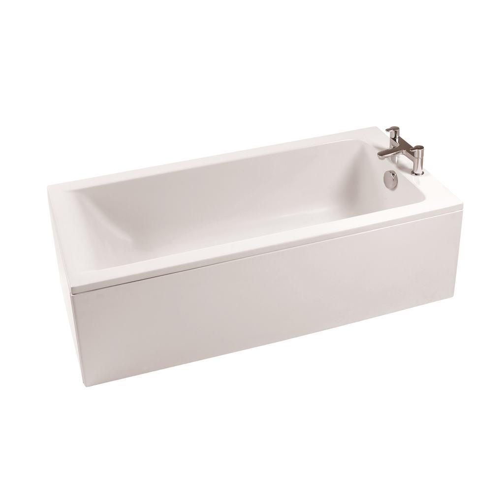 150x70cm Rectangular Bath, 2 Tapholes