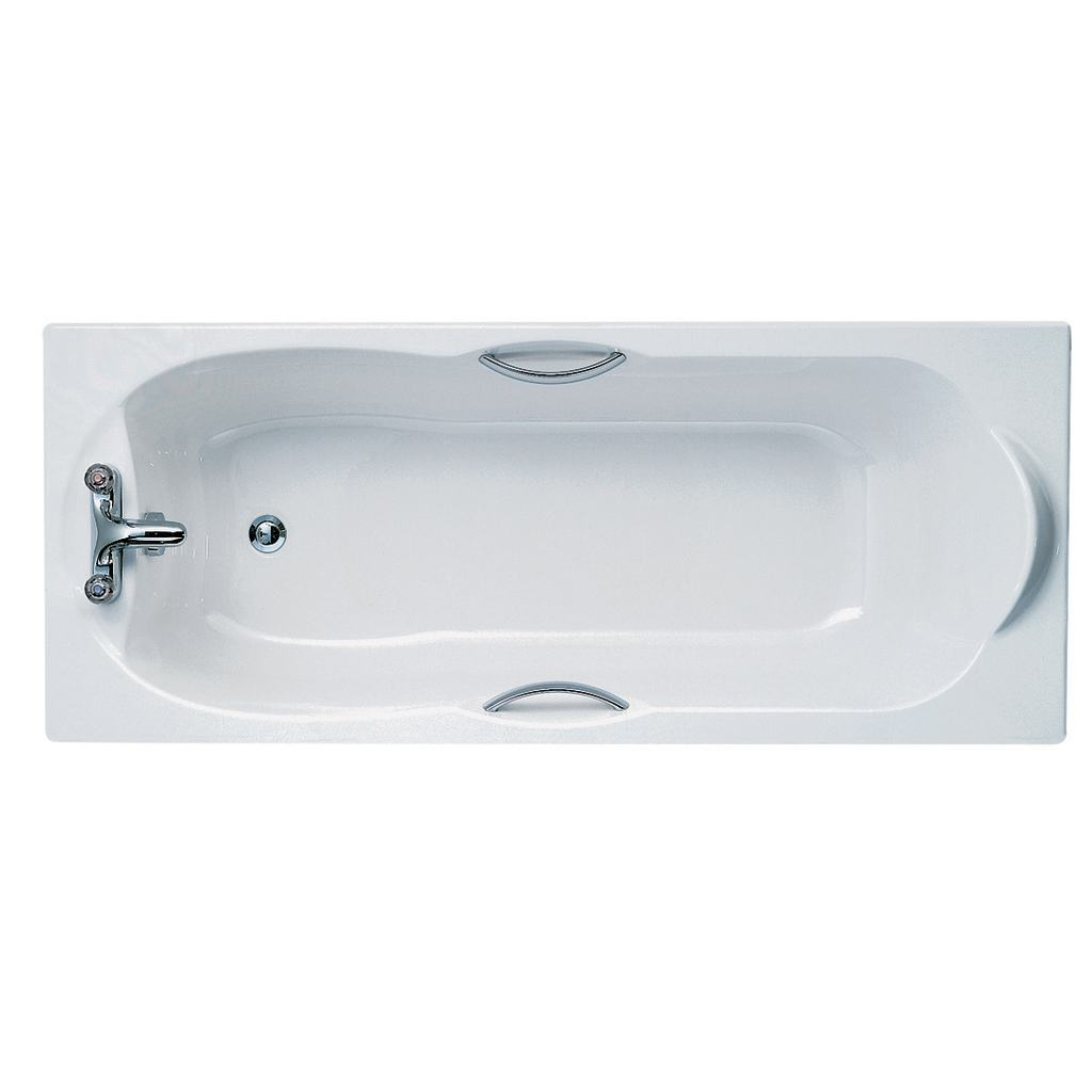 170x75cm Rectangular Bath, no tapholes