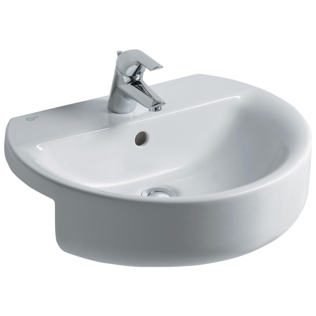 Lavabi Ad Incasso Ideal Standard.Dettagli Del Prodotto E7923 Lavabo Da Semi Incasso 55 X 46 5 Cm