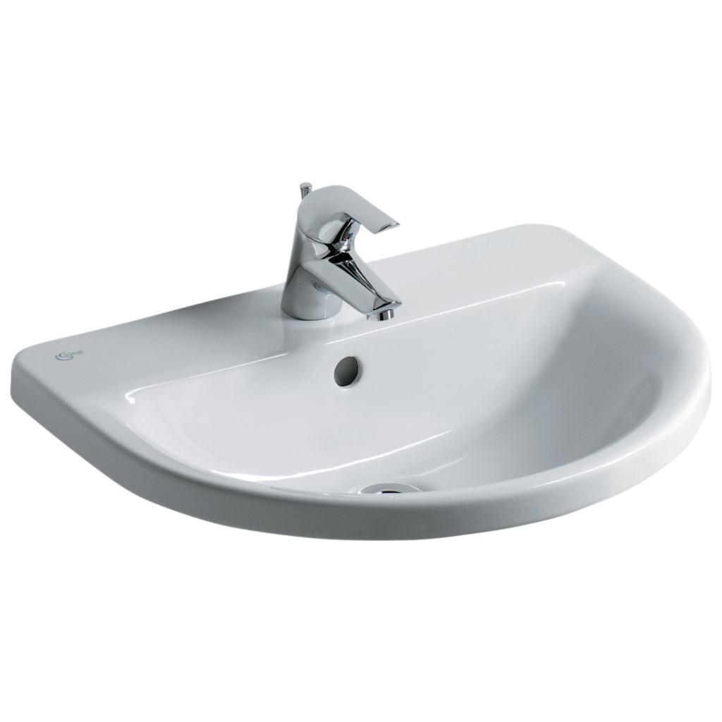 Arc 55cm Countertop Washbasin, 1 taphole