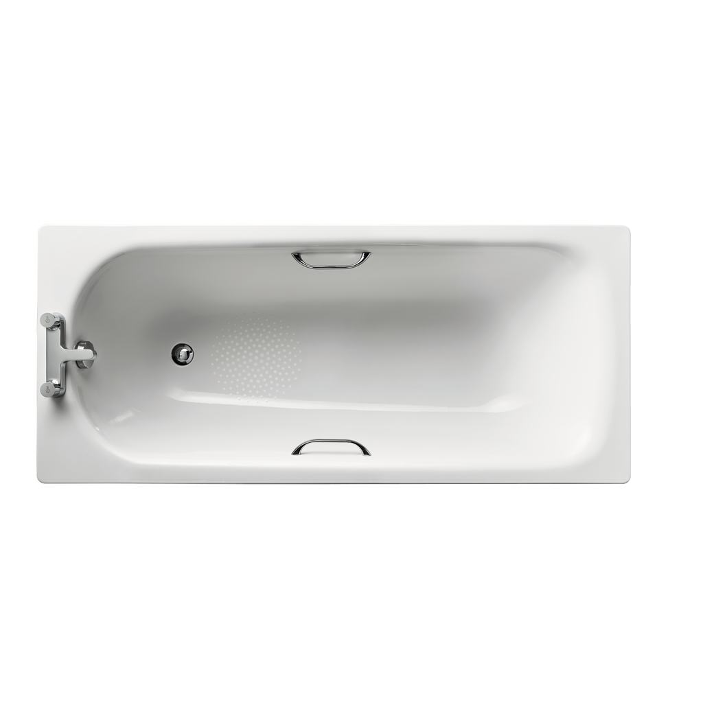 160x70cm Steel Bath
