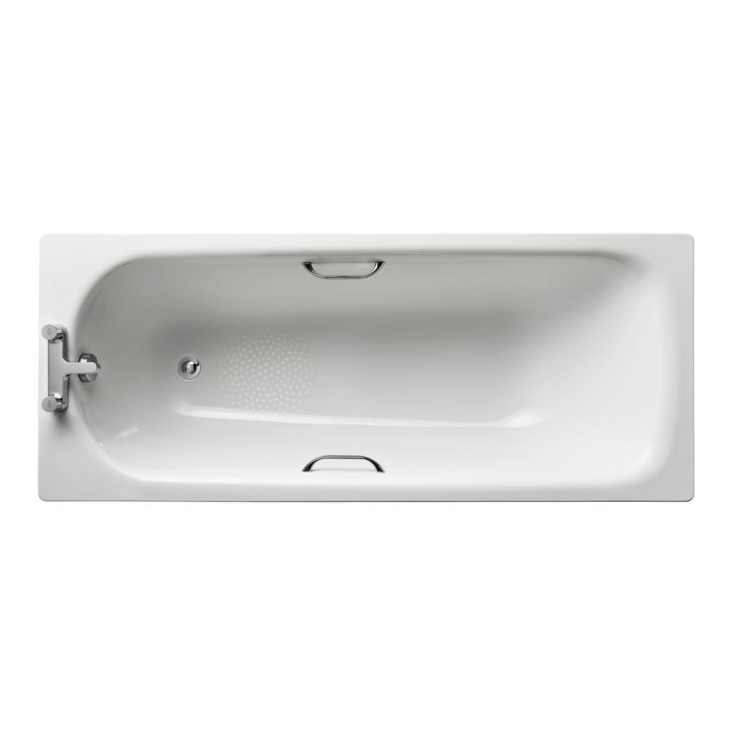 170x70cm Steel Bath