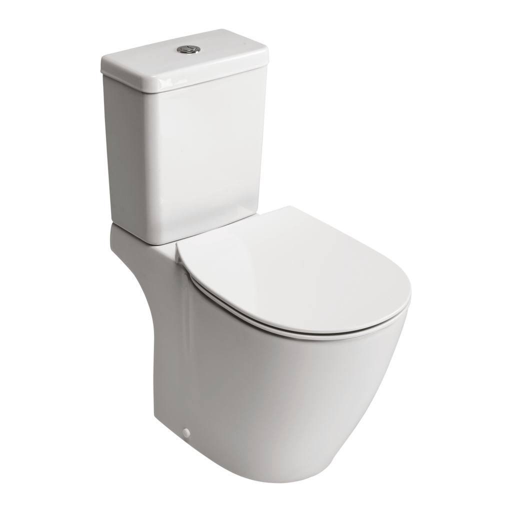 Close Coupled WC Bowl with Aquablade technology - horizontal outlet