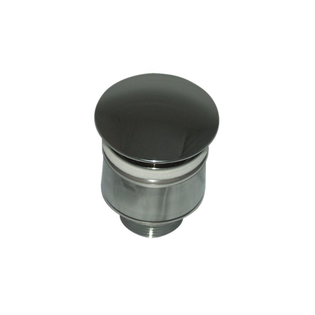 """Специальный донный клапан 1 1/4"""" для умывальников и чаш без отверстия перелива"""