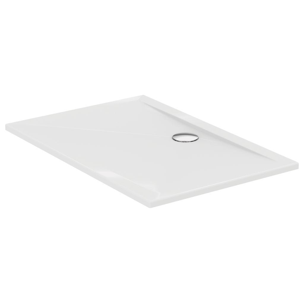 Piatto doccia in acrilico rettangolare 120x80 cm