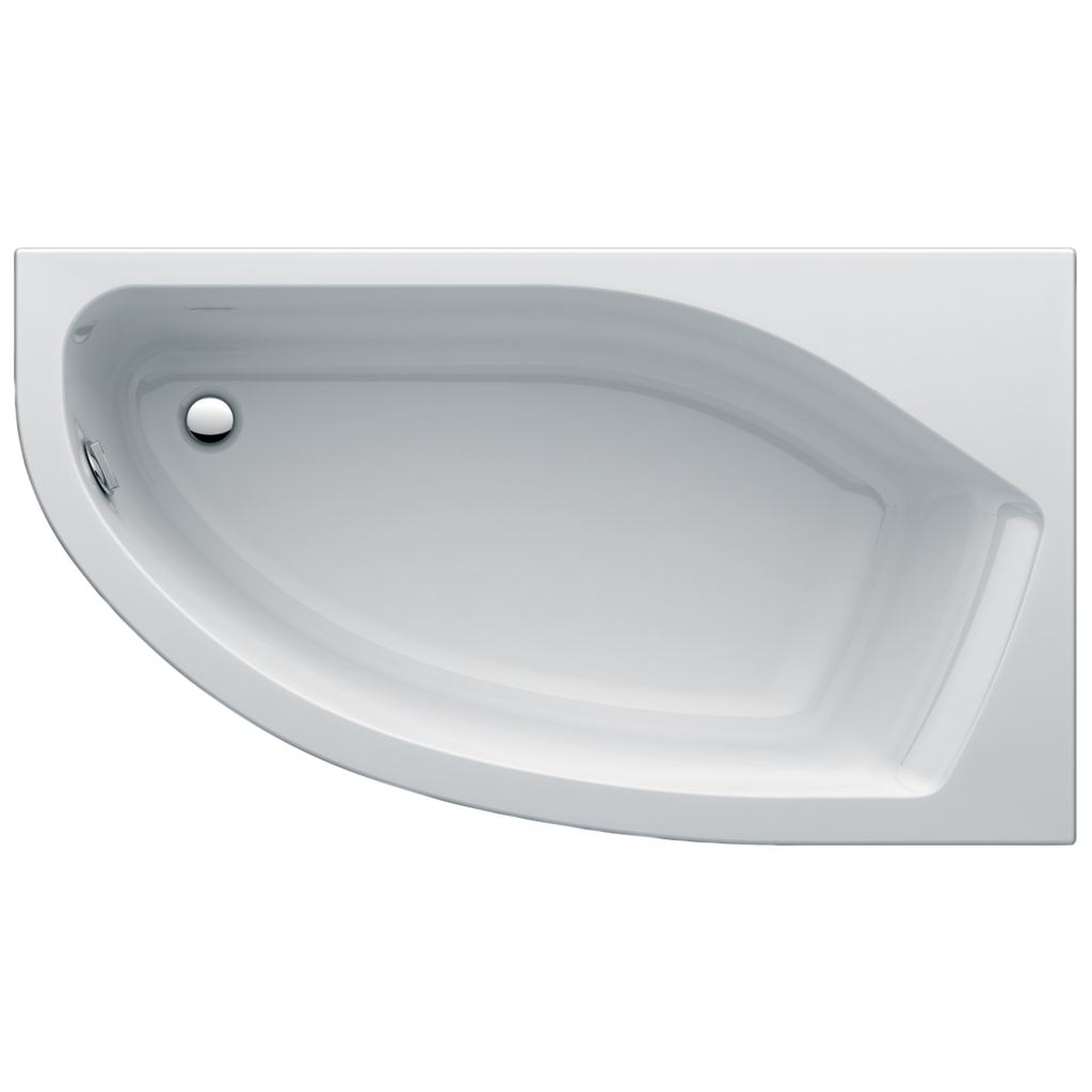 Dettagli del prodotto: K1850 | Vasca Asimmetrica Pannellata | Ideal ...