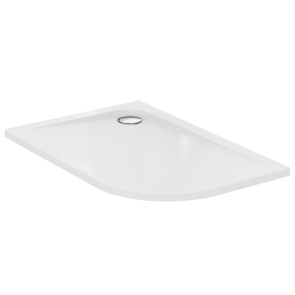 Piatto doccia in acrilico lato curvo 95x75 cm