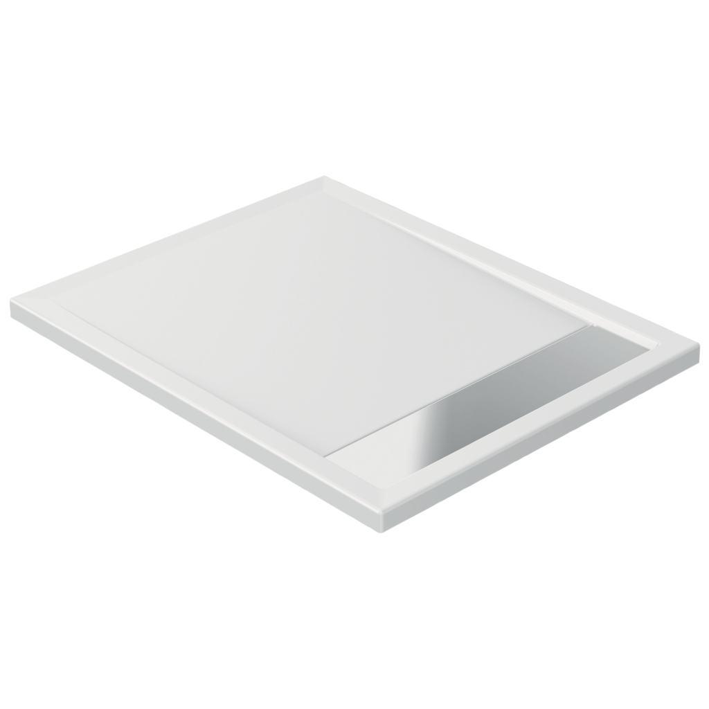 Piatto doccia in acrilico 100 x 80 x 4 cm