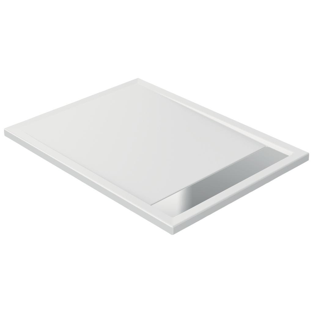 Piatto doccia in acrilico 120 x 90 x 4 cm