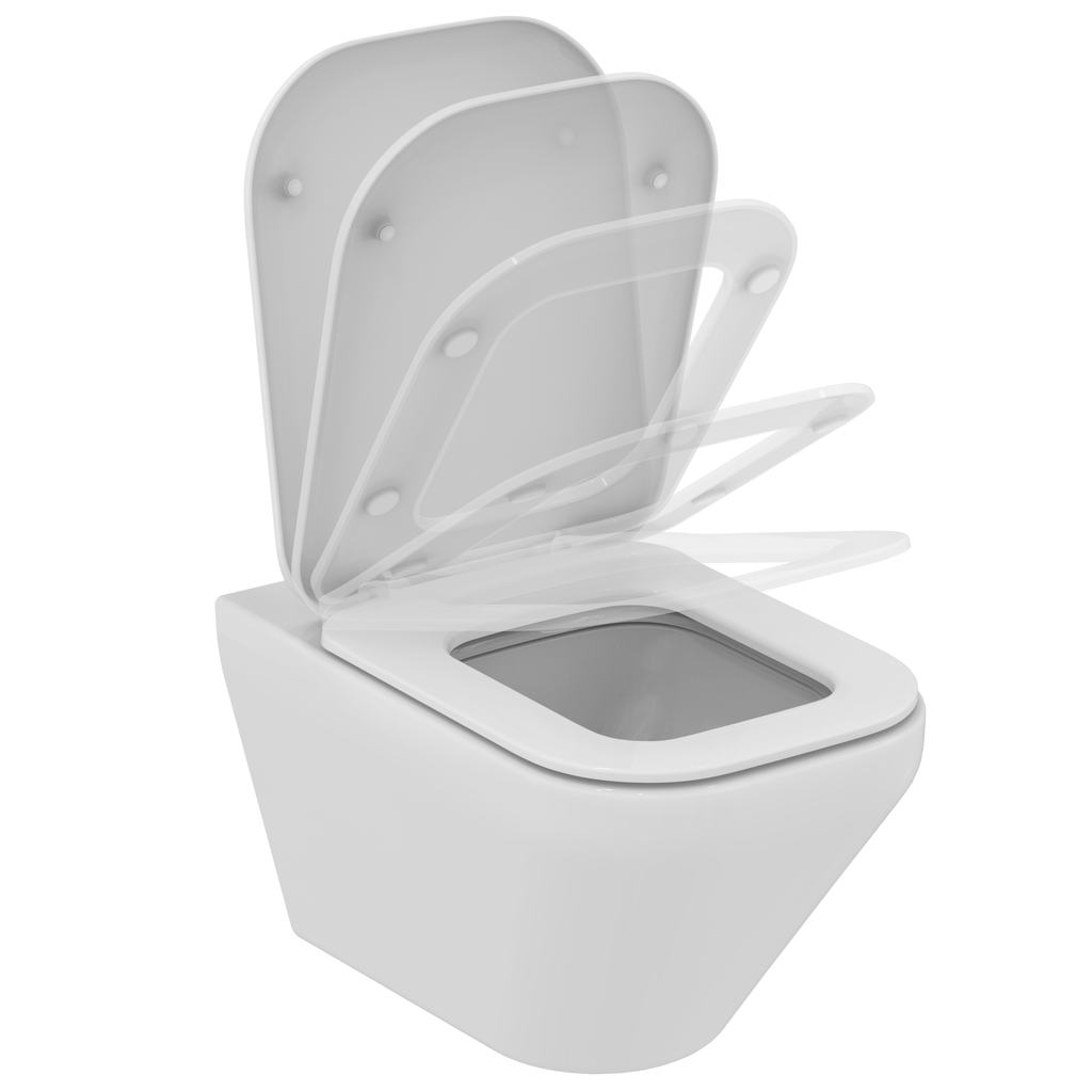 Ideal Standard K3167 Wall Mounted Wc Bowl Aquablade With Fully Hidden Fixation