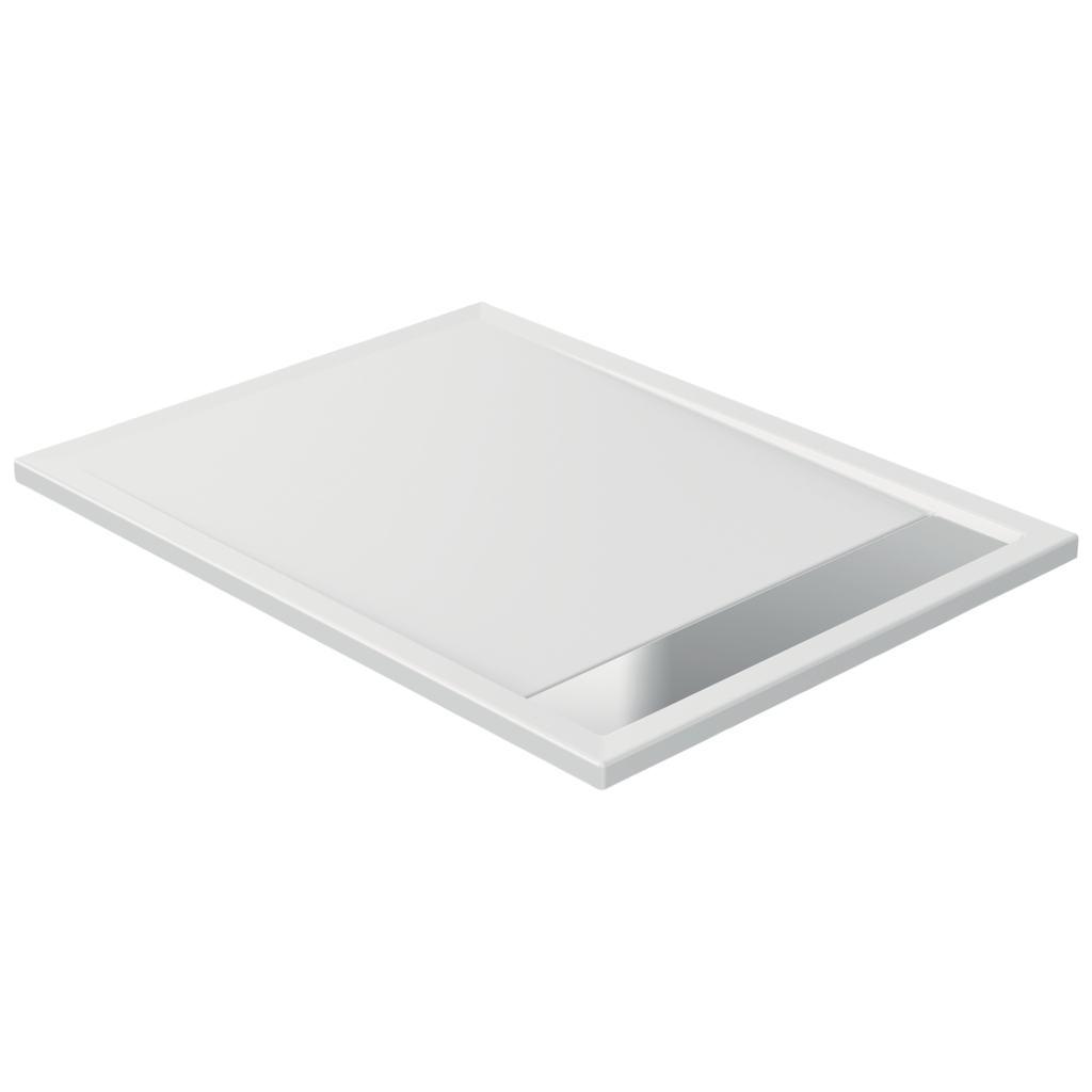 Piatto doccia in acrilico 120 x 80 x 4 cm