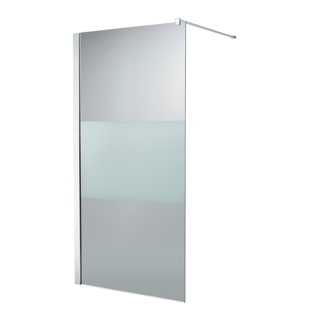 900mm modesty wetroom panel