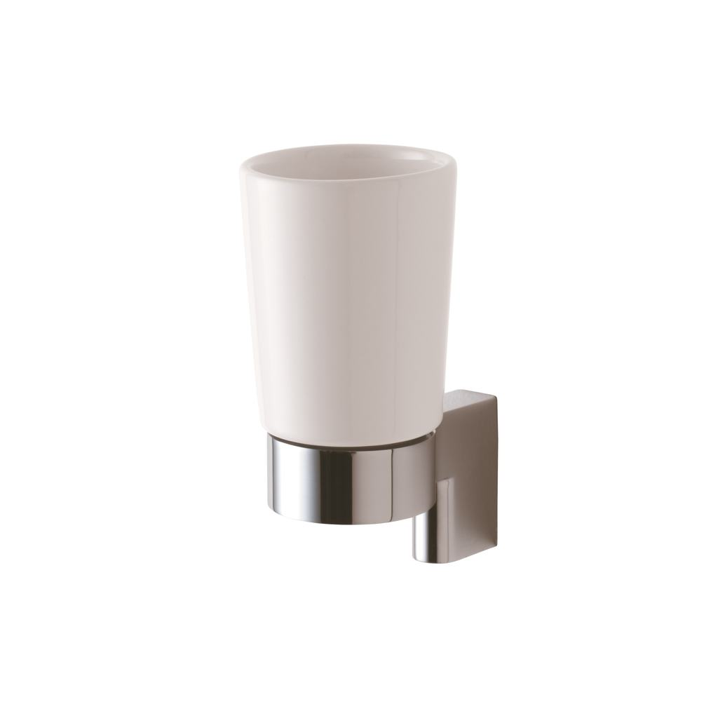 Ceramic Tumbler and Holder