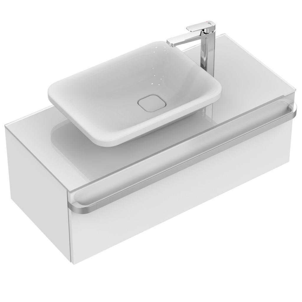 ideal standard k0833 umywalka nablatowa asymetryczna 55 cm. Black Bedroom Furniture Sets. Home Design Ideas