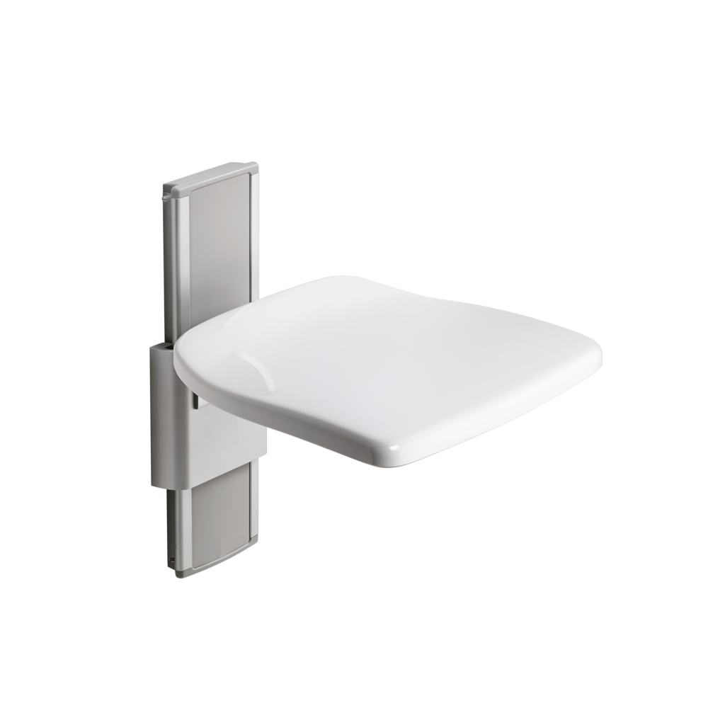 Shower Seat with Vertical Adjustment