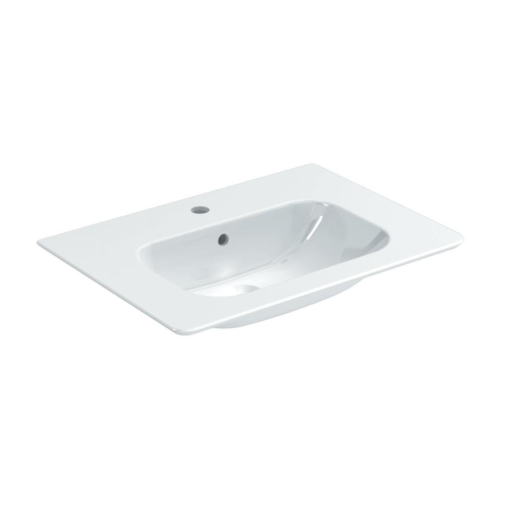 64cm Vanity Washbasin, 1 taphole