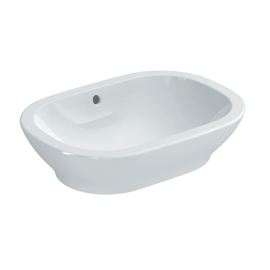 55cm Oval Vessel Washbasin