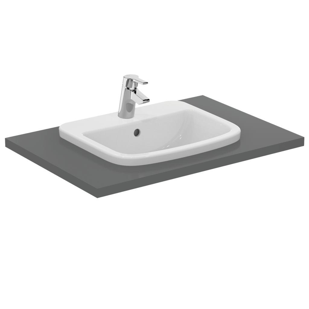 50cm Countertop Basin, 1 taphole