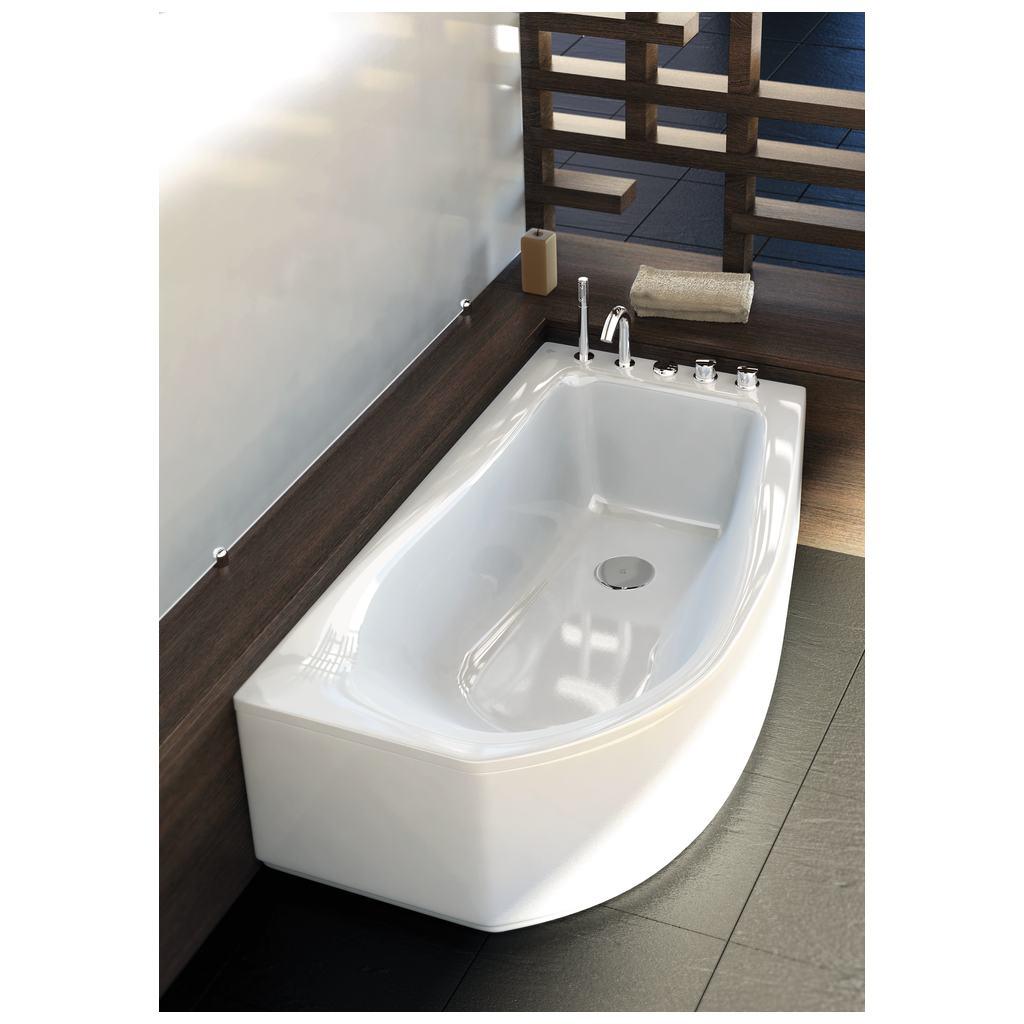 Rubinetti bordo vasca boiserie in ceramica per bagno - Vasca bagno ideal standard ...