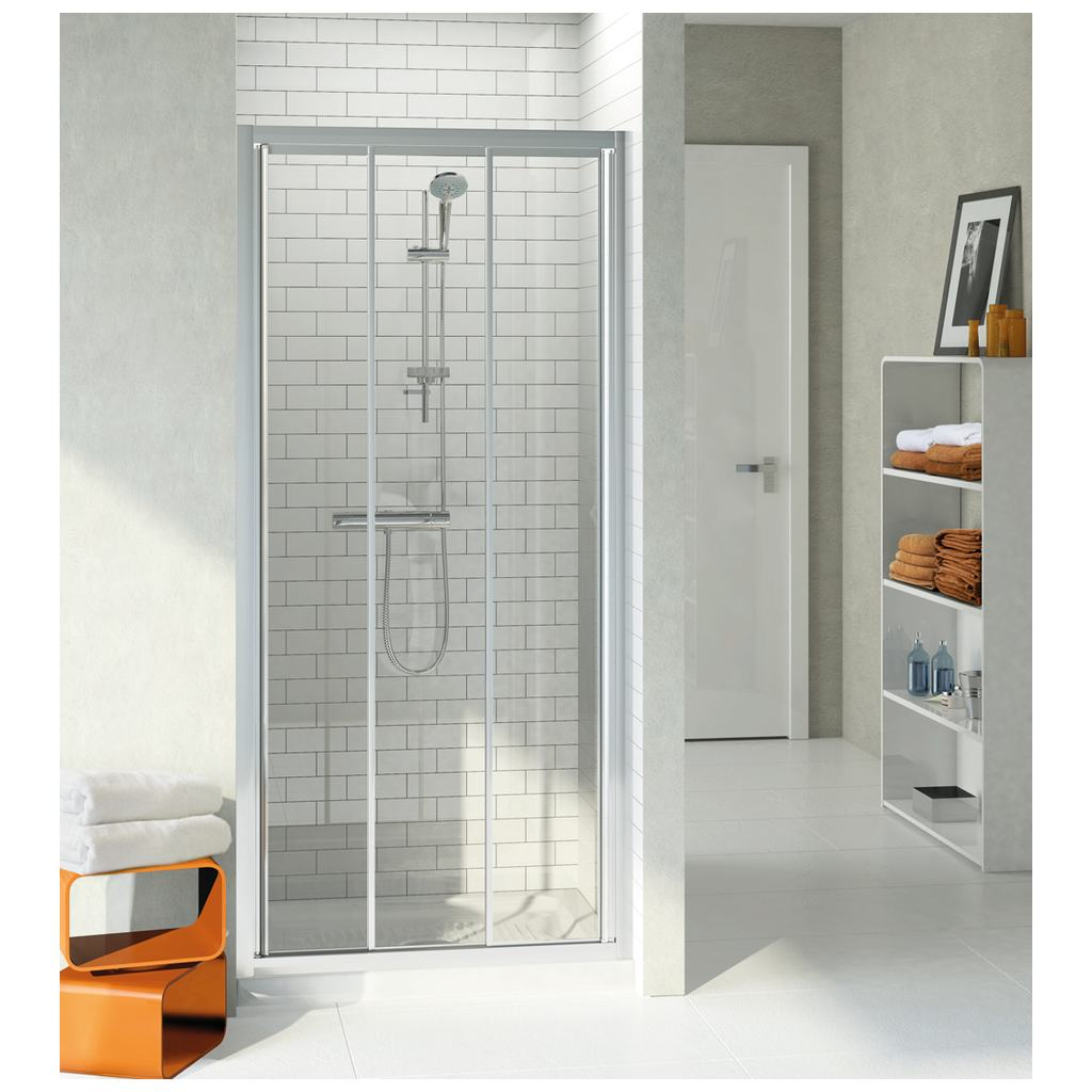 Porte 90 cmverre transparent