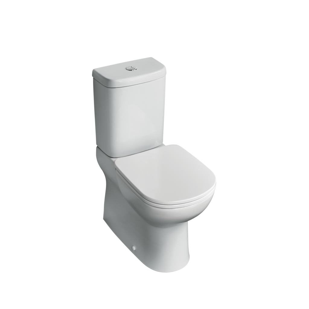 Close Coupled Back-to-Wall WC Bowl