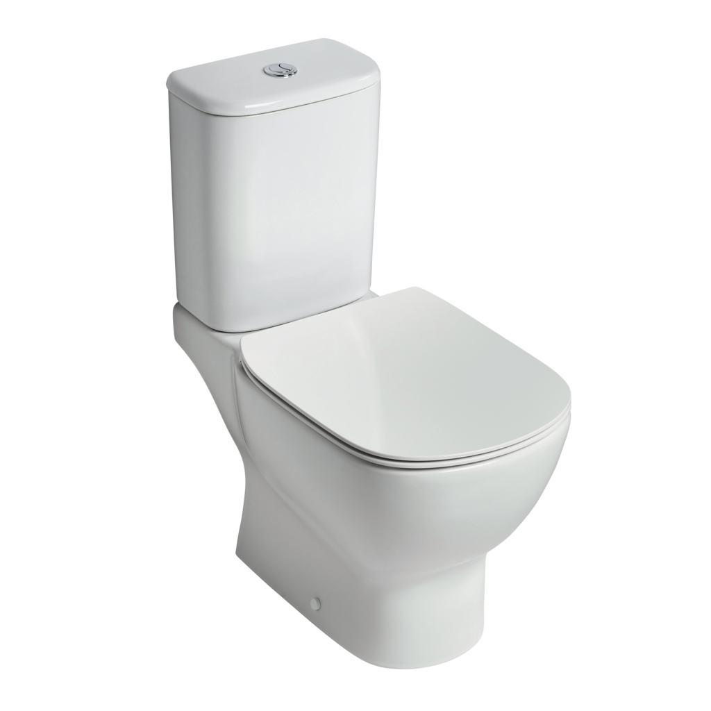 AquaBlade® close coupled WC bowl