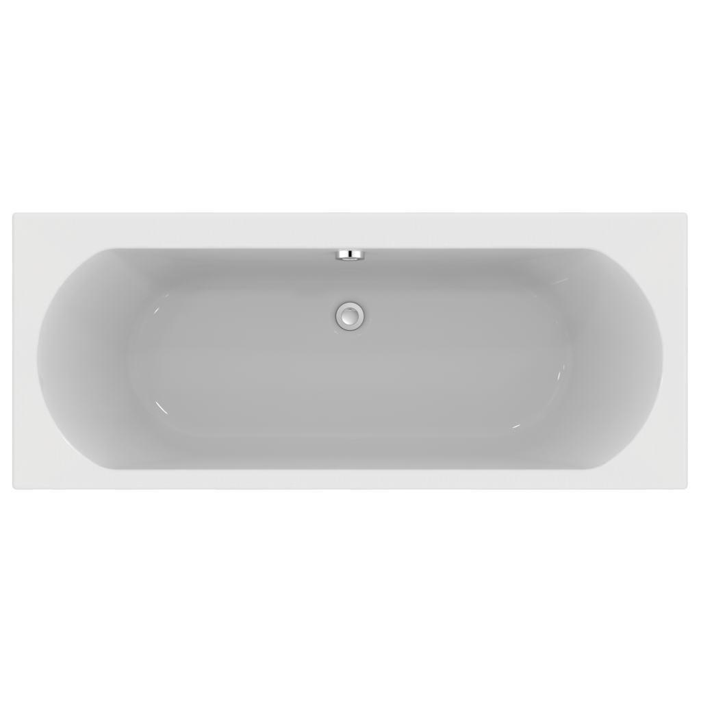 170x70cm Double Ended Idealform Plus+ Bath