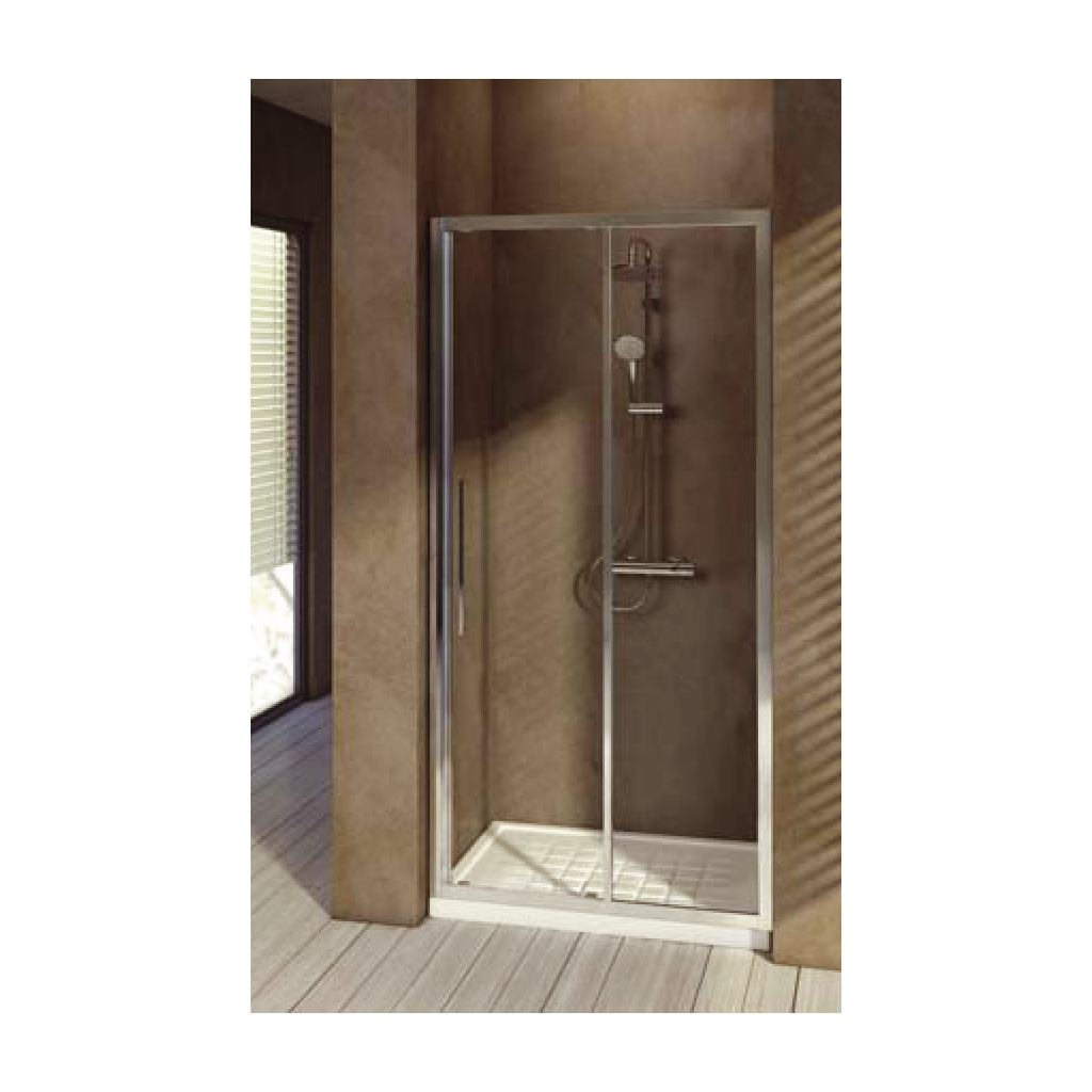 Porte 140 cmverre transparent