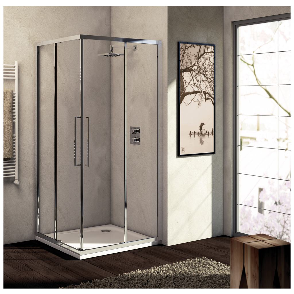 Porte 100 cmverre transparent