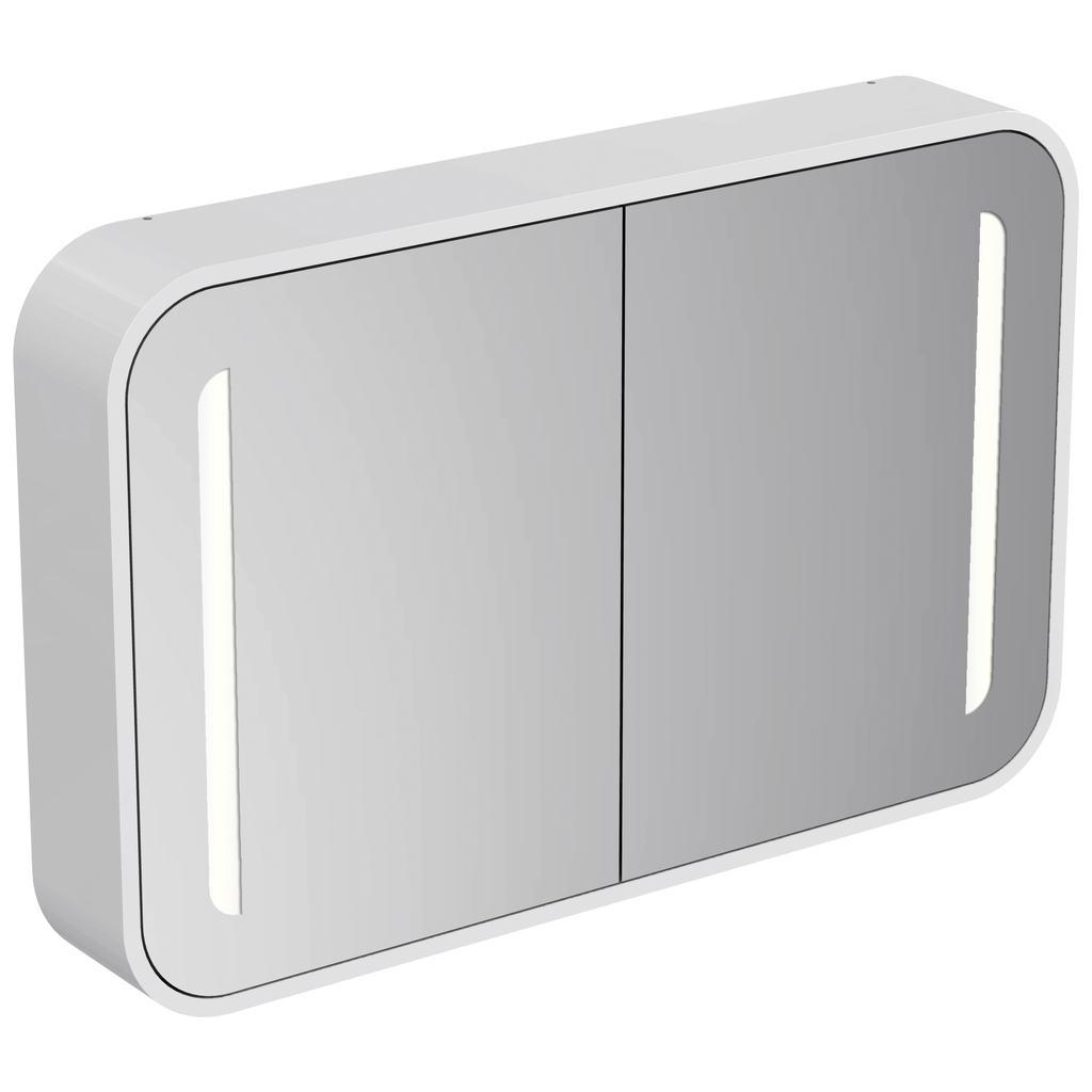 Specchio contenitore Dea 100 cm