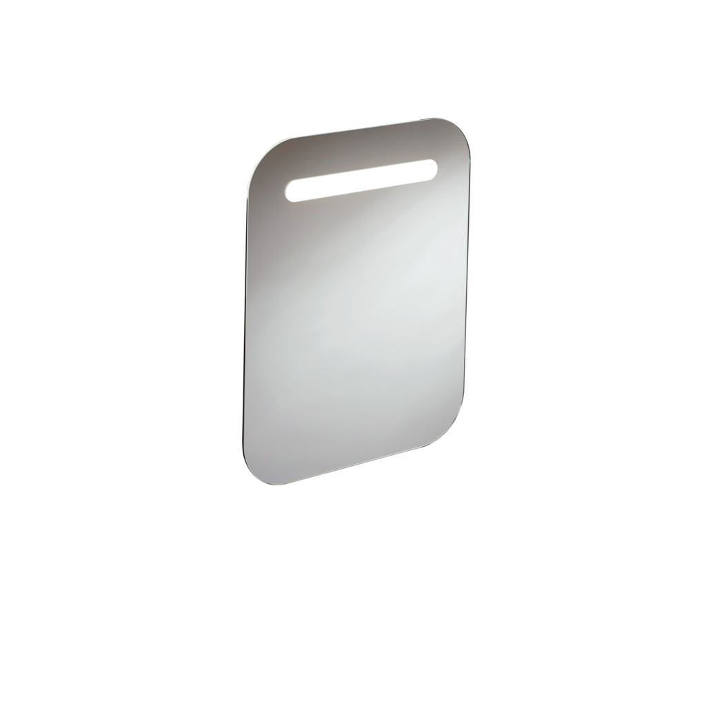 500mm Rounded Mirror with Light & Sensor
