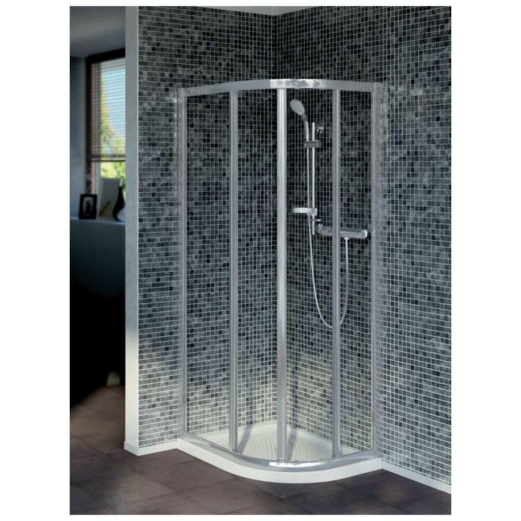 ideal standard t9825 quadrant offset shower enclosure 90x70 cm. Black Bedroom Furniture Sets. Home Design Ideas