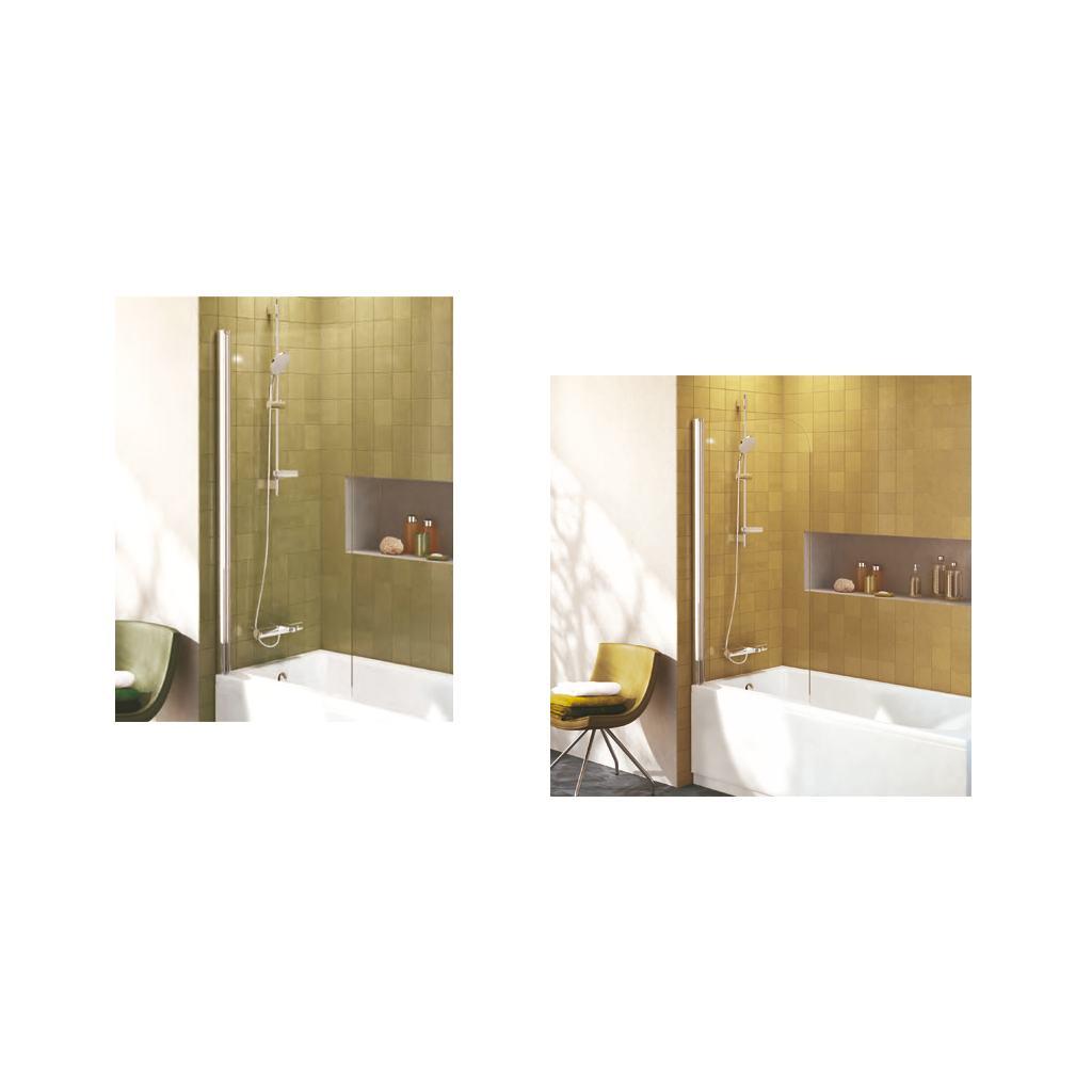 Angle Bath Screen
