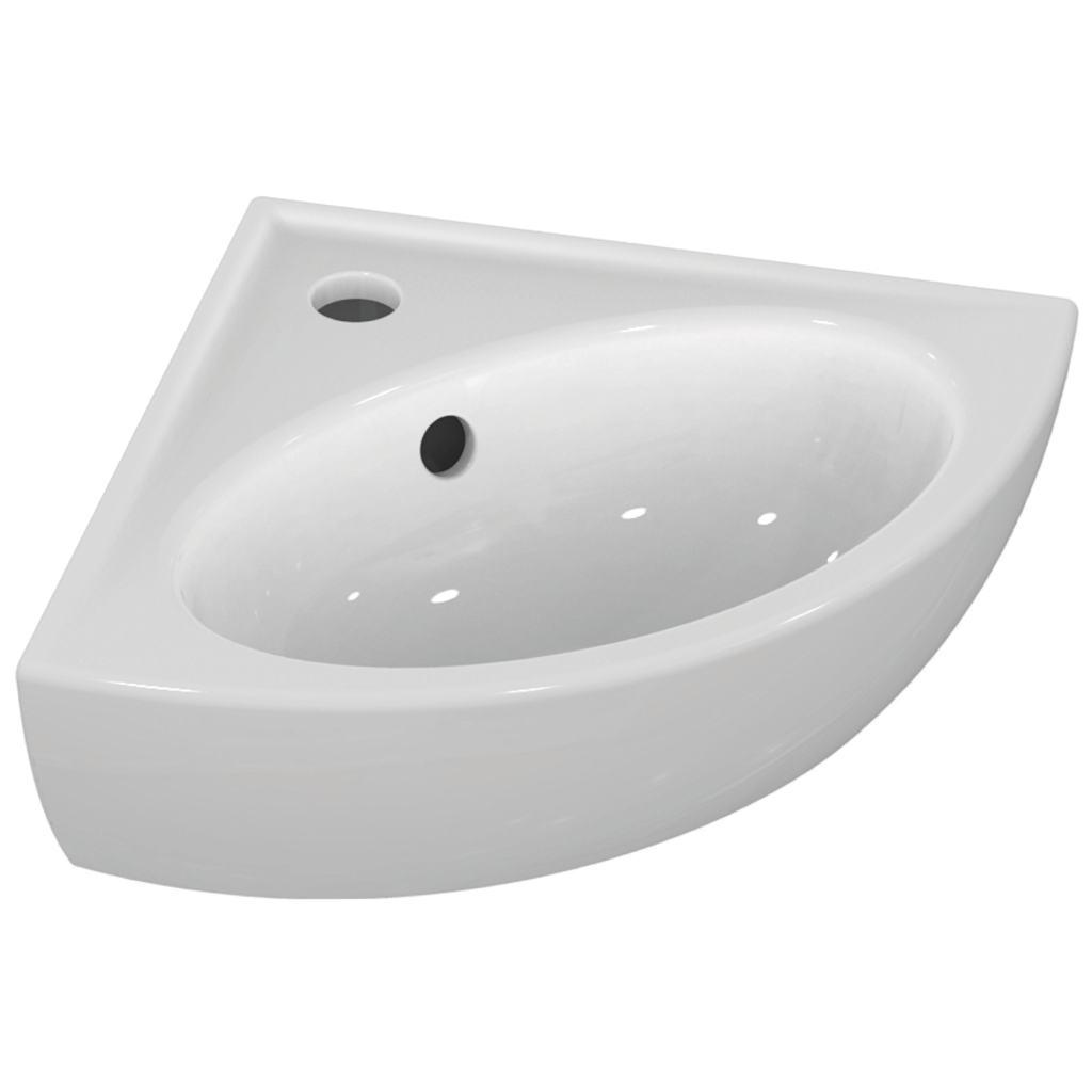 Corner Washbasins : Corner Washbasin 48 cm
