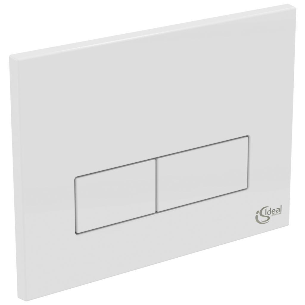 ideal standard w3708 dual flush control plate rectangular. Black Bedroom Furniture Sets. Home Design Ideas