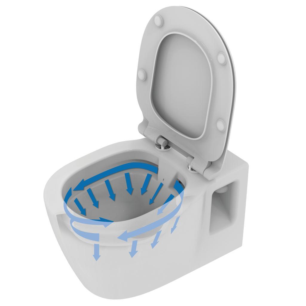 Ideal Standard E8174 Wallhung Bowl Rimless
