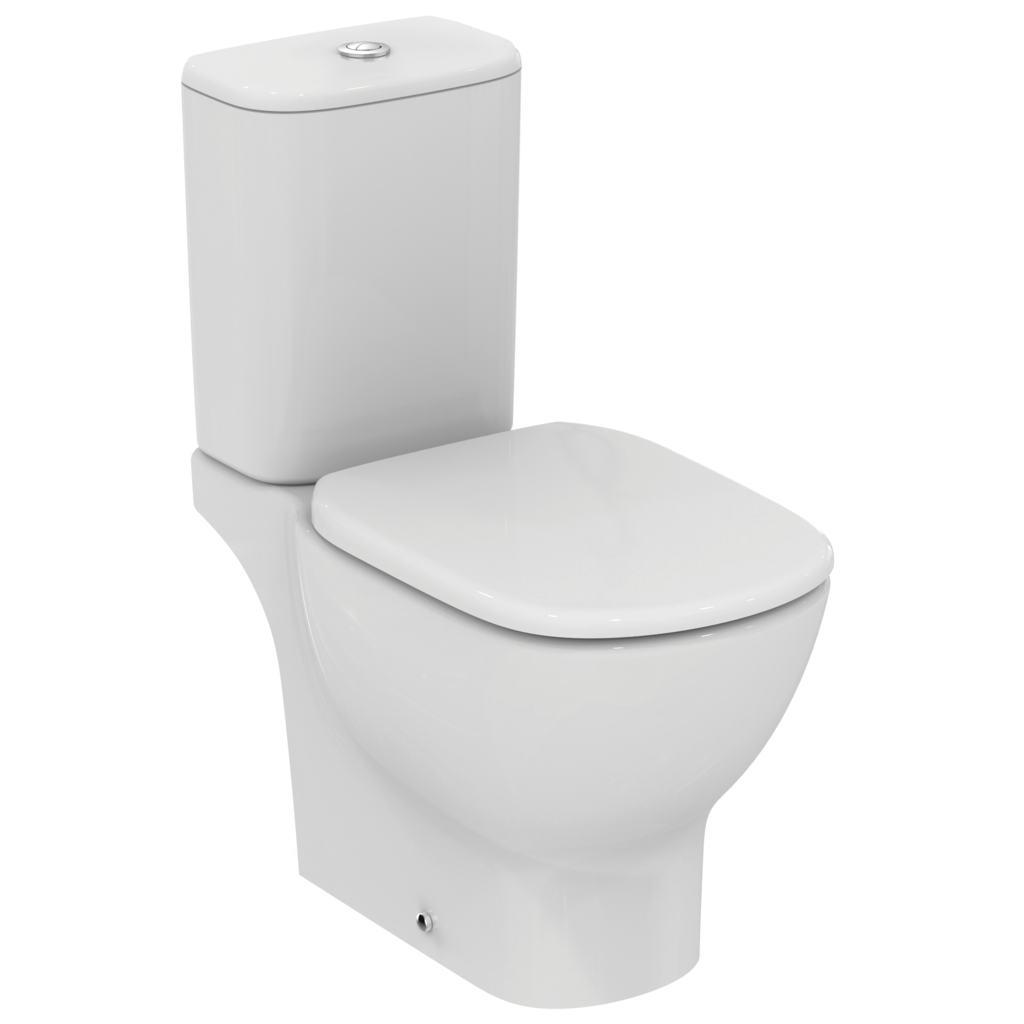 TESI AquaBlade® Напольный унитаз для монтажа с бачком