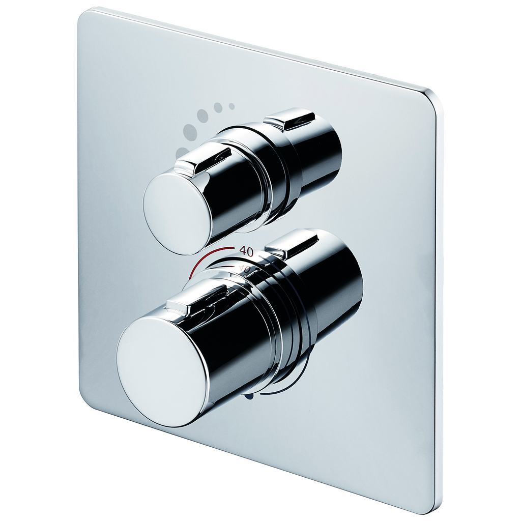 Easybox Slim thermostatic built-in shower mixer