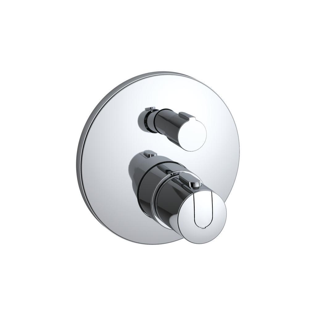 Miscelatore termostatico ad incasso individuale per doccia.