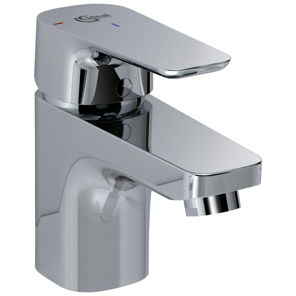 Miscelatore con sistema Bluestart per lavabo