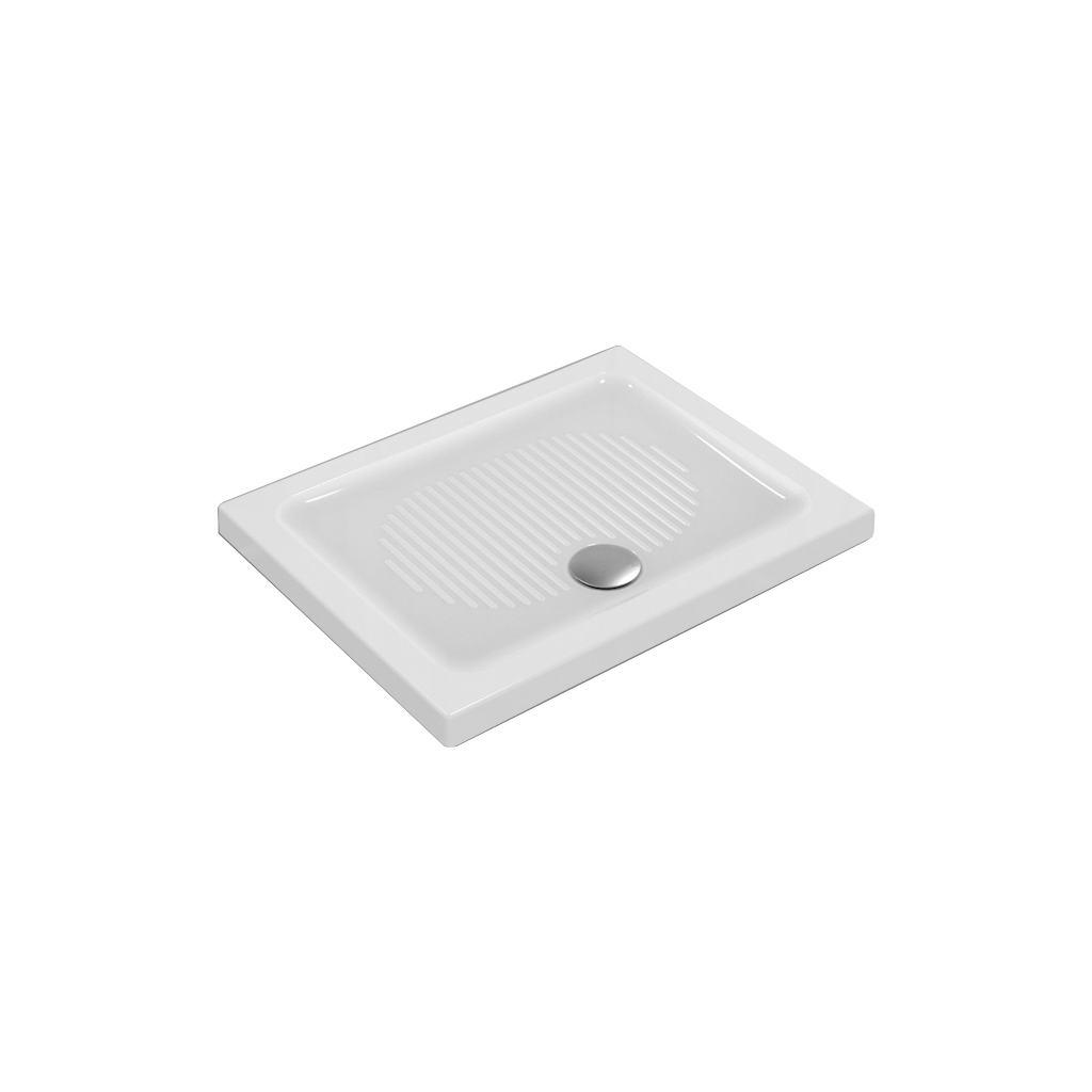 CONNECT керамический прямоугольный душевой поддон 90X70 см