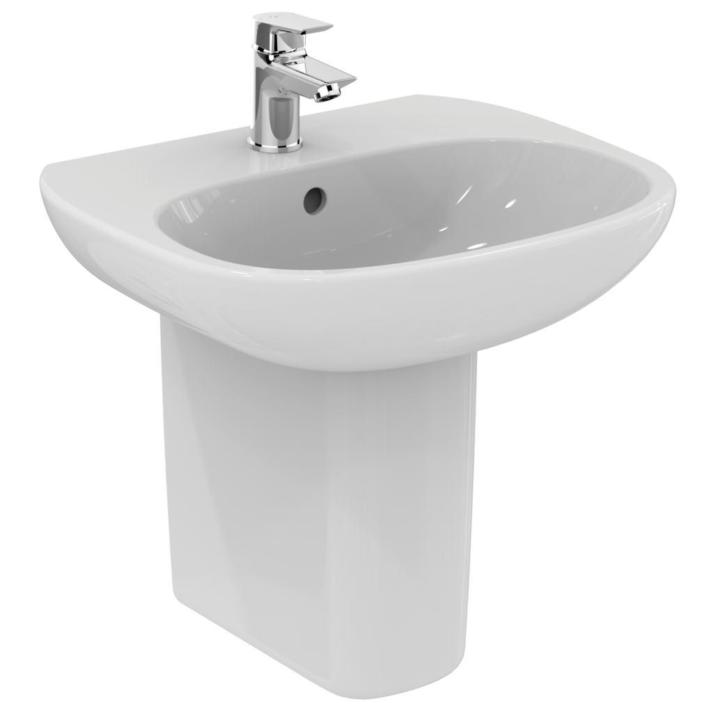 Product Details T0312 50cm Pedestal Basin One Taphole