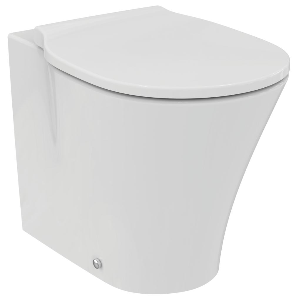 back-to wall bowl with Aquablade technology - horizontal outlet