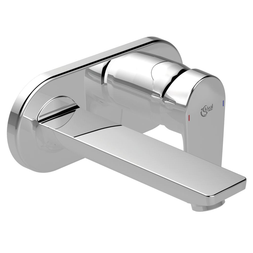 Miscelatore lavabo per installazione a parete