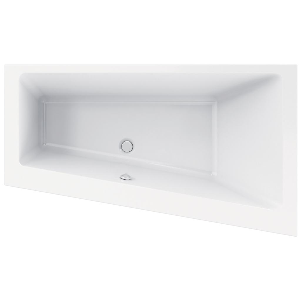 Dettagli del prodotto: K2610 | Vasca Asimmetrica ad Incasso | Ideal ...